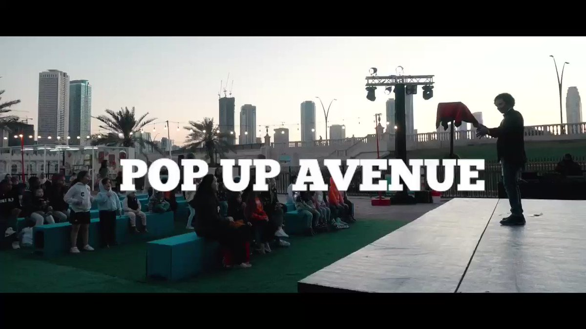 Join us everyday at the Pop Up Avenue and enjoy various #activities for all the family members such as outdoor #cinema, story telling, roaming #dancers, and many more Place: Al Qasba  Date: 13 Feb - 24 May 2020 Time: 4:00pm - 11:00pm
