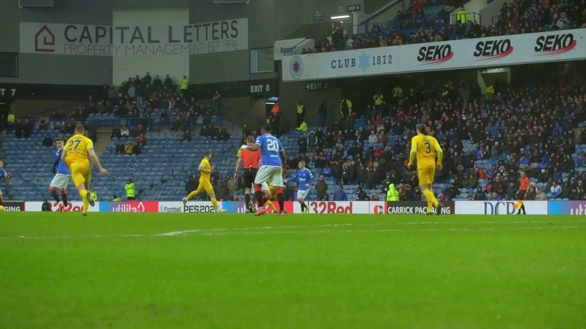 👏@IanisHagi10 with the perfect pass😏@scottyarf with the finish and salute