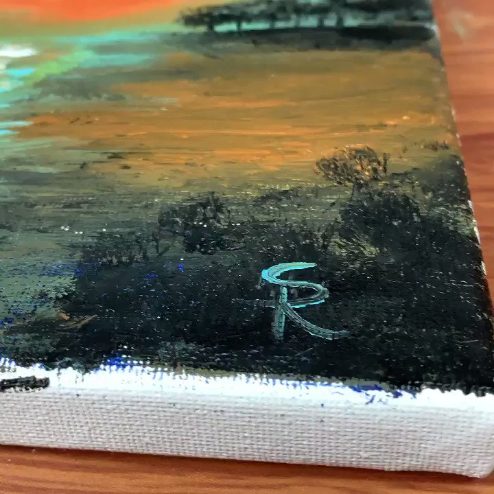 Full Video on my YouTube channel 😬✨ YouTube 👉 RanuviusS Art . . #painting🎨 #paints #canvas #acrylic  #satisfying #drawing #dailypainting #color #landscape #abstractpaintingartist #howtopaint #relaxing #youtuber #tutorial  #paletteknife #demo #painting #youtubers #artist #art