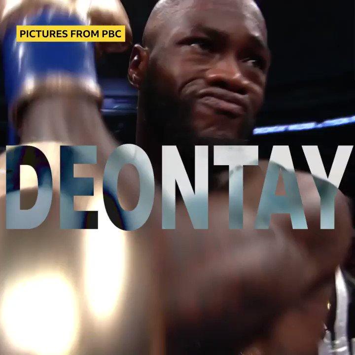 """""""BOOOOOOMB SQUAD!"""" Deontay Wilder's punching power is no joke. 😳It's fight week! Tyson Fury and Deontay Wilder meet again.@LukeReddy is in Las Vegas: https://bbc.in/2vBje8F"""