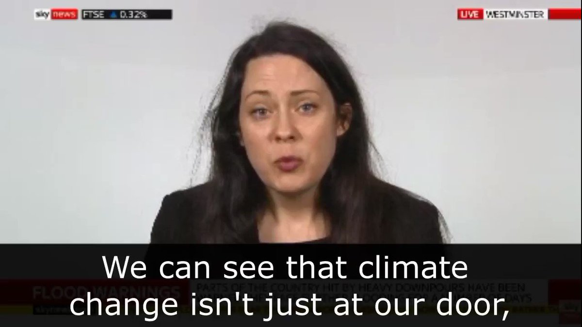 Climate change isnt just at our door. Its in our living rooms. @Amelia_Womack reacts to the shocking flooding weve seen across the UK #StormDennis