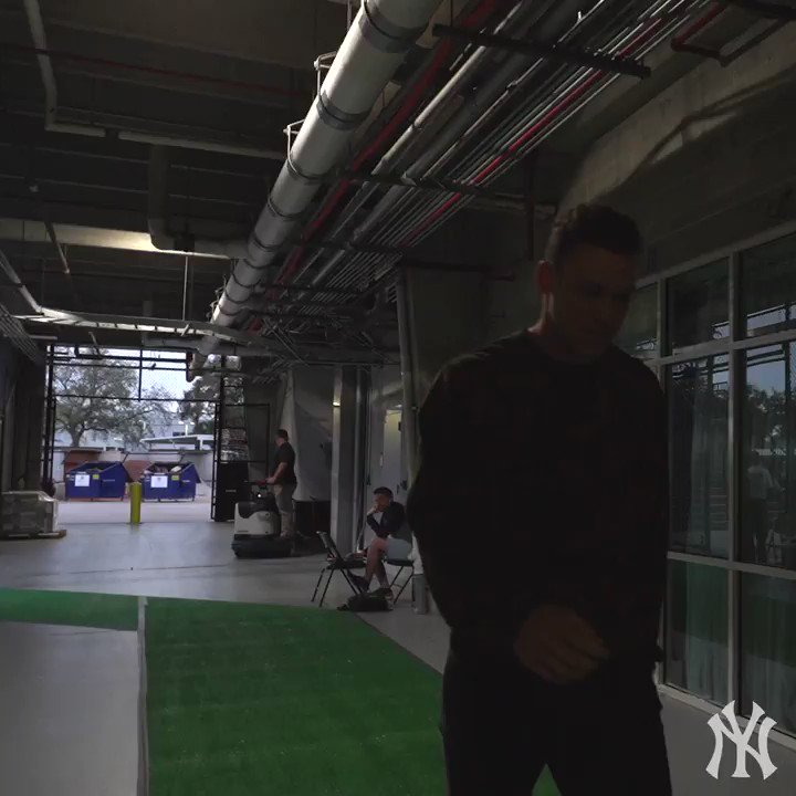 #AllRise for the arrival of @TheJudge44.