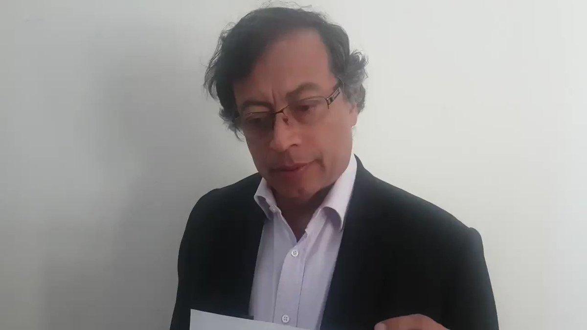 #ConfesionDeAida ratifica denuncia de @petrogustavo sobre fraude electoral que implica a presidente @IvanDuque y a @Registraduria en manos de Juan Carlos Galindo.#DemocraciaEnColombia