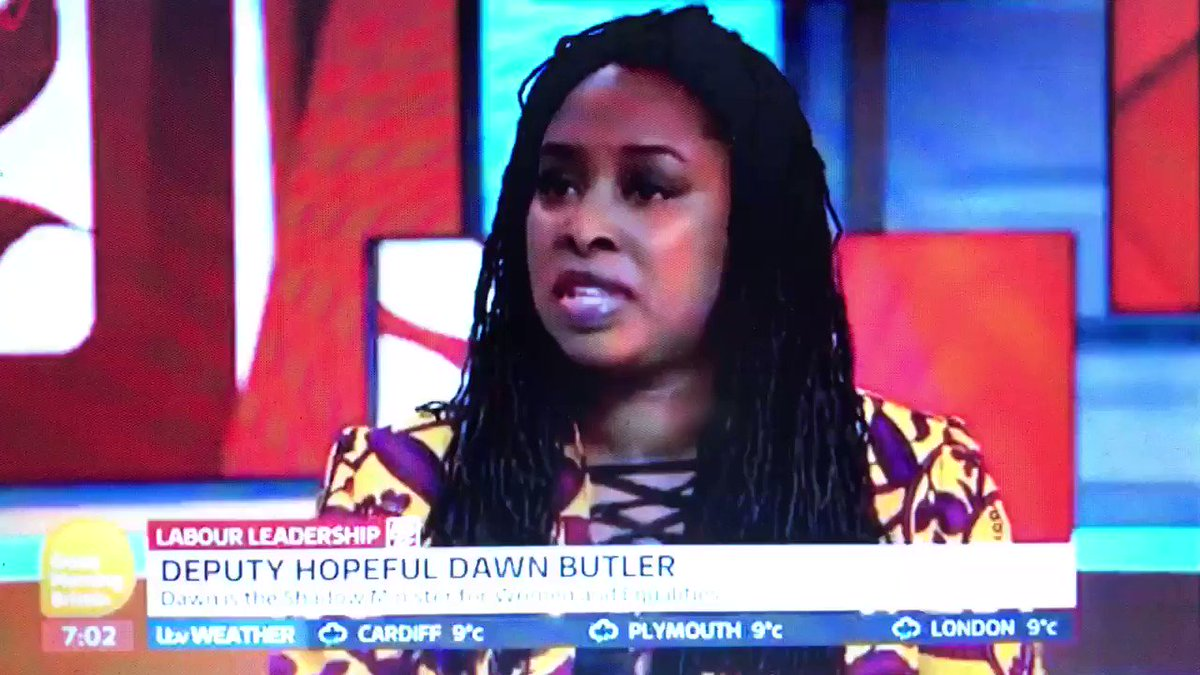 Whoa! Did Dawn Butler just tell the nation that children are born without a biological sex?