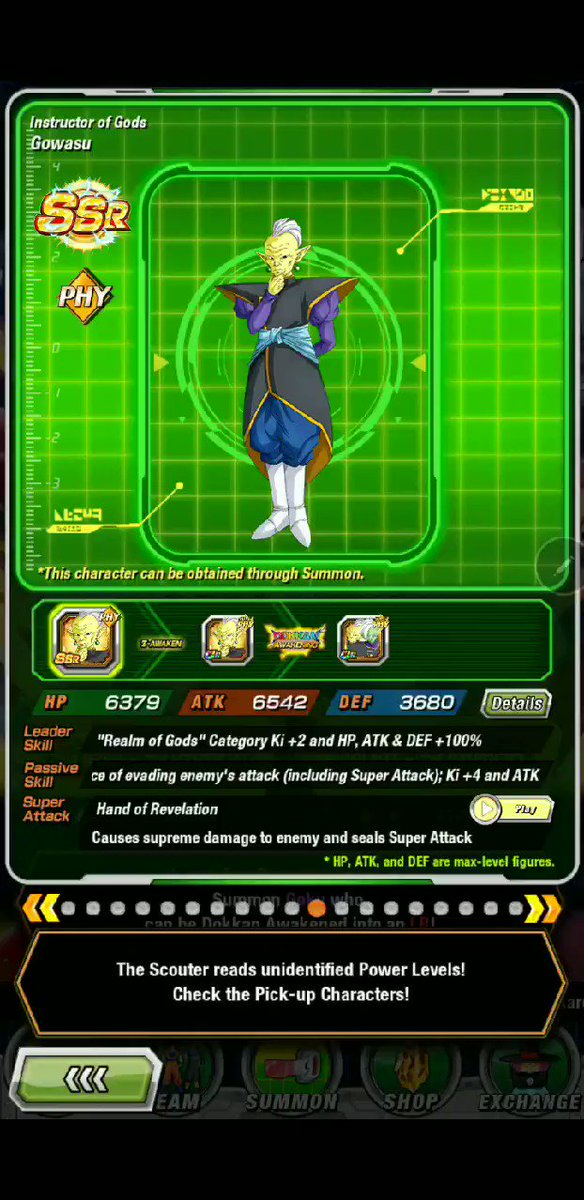 It's been awhile since I've been on the Dokkan Battle! Just checking out some of the different cards and animations updates since last time i was on. #DOKKANBATLLE #DragonBall #BackToLife
