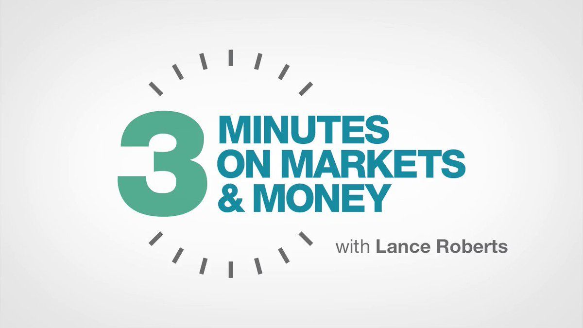 So you think you've made up your losses in the market over the past ten years? The math says otherwise in @LanceRoberts #ThreeMinutesOnMarketsAndMoney, on our YouTube channel now: #Markets #Money #Investing https://buff.ly/323MzVs
