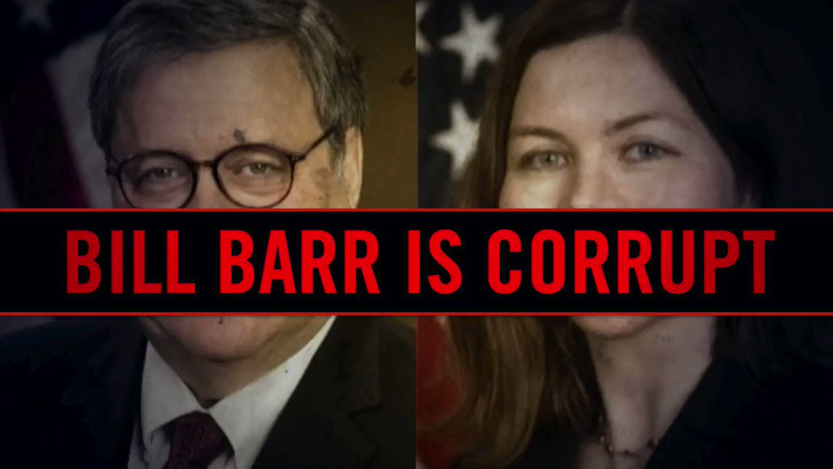 AG Barr should resign over Trump's Tweets & over this blatant attack on our JUSTICE system & DEMOCRACY! #ResignNowBarr