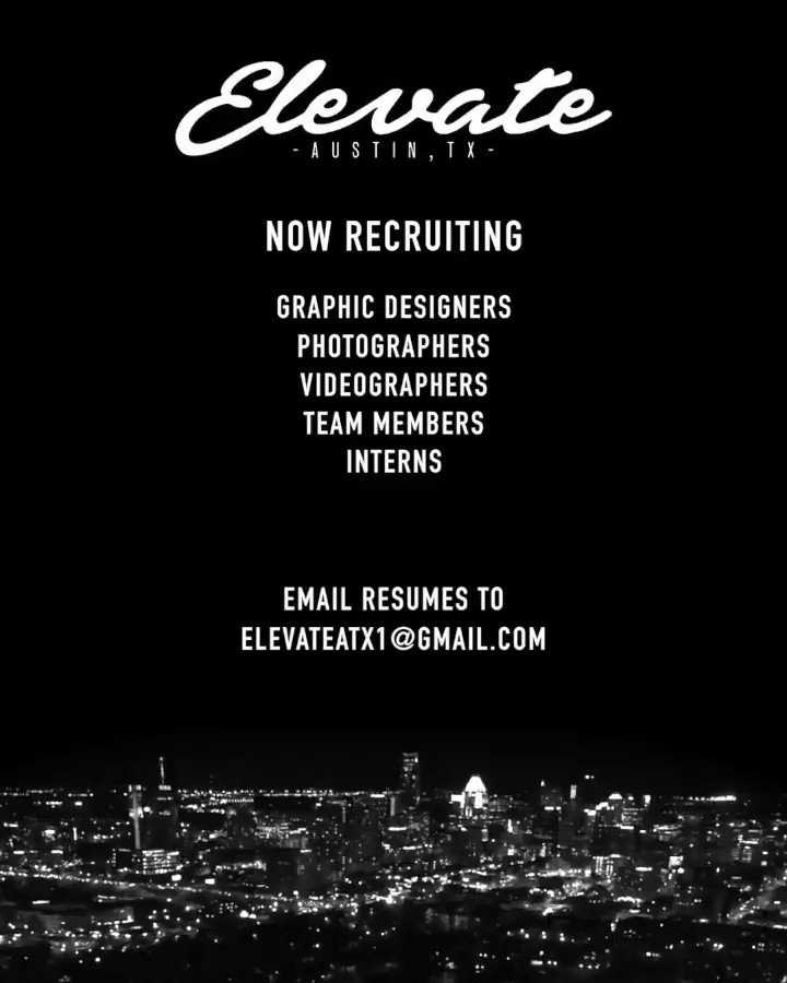 Send in your resumes!!!