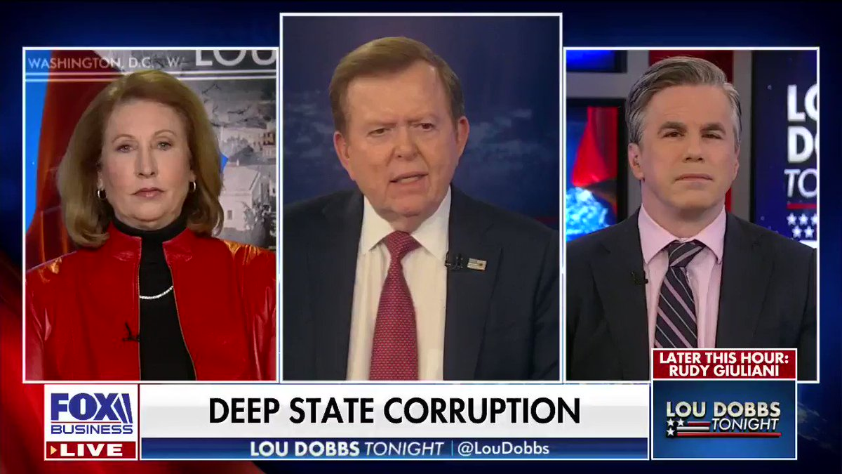 Corrupt Radical Dems: @TomFitton says the DOJ takes an aggressive approach towards Republicans and people associated with @POTUS, while giving special treatment to the Dems. #AmericaFirst #MAGA #Dobbs