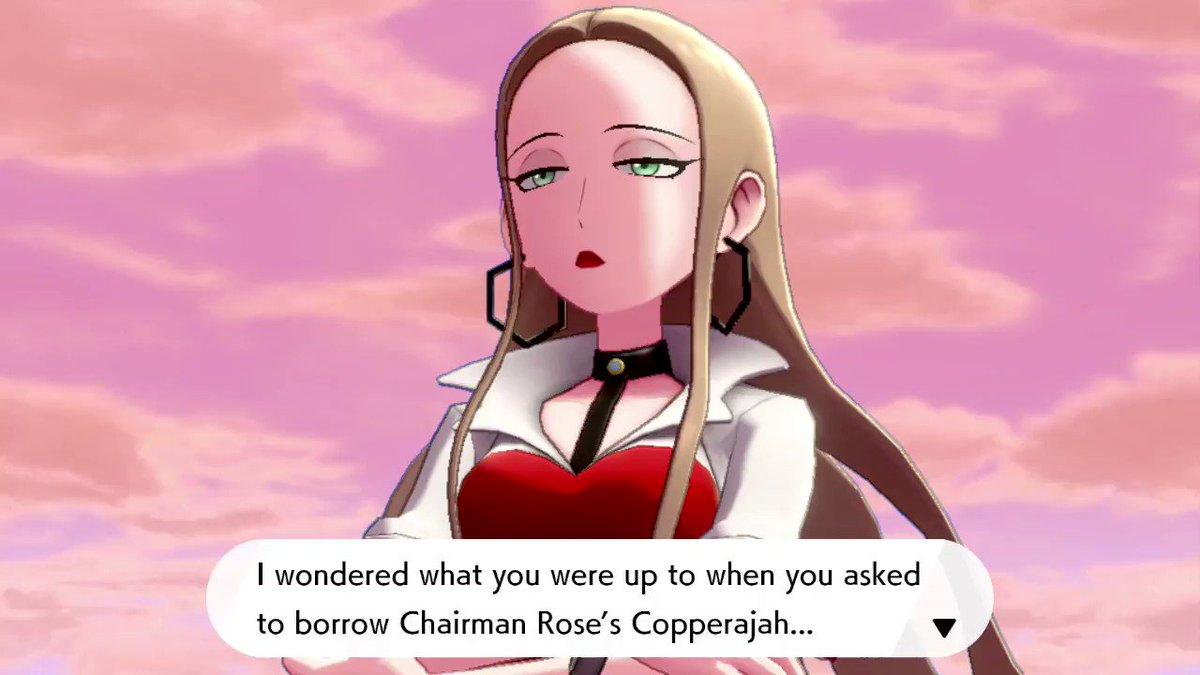 #PokemonSwordShield #Oleana #Bede #Rose