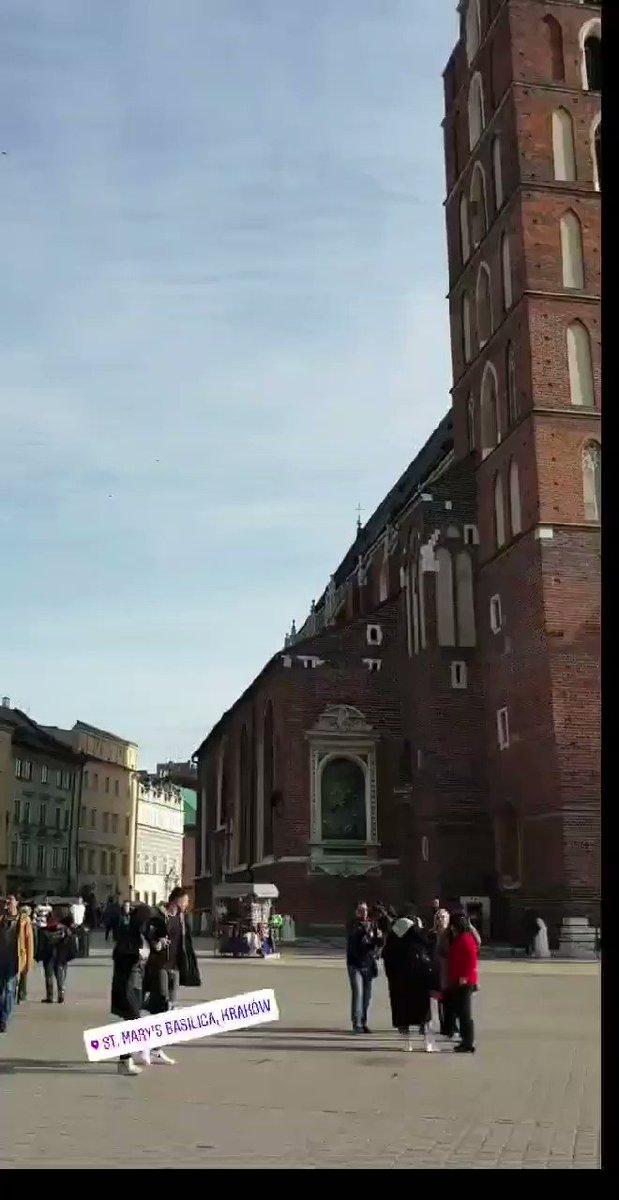 Image for the Tweet beginning: Bazylika Mariacka wKrakowie