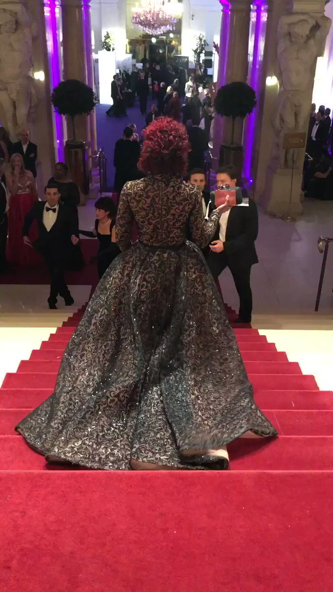 When I was younger I don't remember seeing images of or reading about Black women in beautiful gowns at grand balls though the romances & fairy tales I read were full of women doing just that. Well, here I am at the Kaffeesiederball at Hofburg Palace in Vienna last year. ✨✨