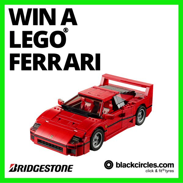 🏎️ #WIN a LEGO® Ferrari F40 courtesy of @BridgestoneUK 🏎️  To be in with a chance of winning this #giveaway simply RT this post & follow @blackcircles!  Ends: 08/03/20 at 11:59pm  T&C's: http://facebook.com/notes/blackcirclescom/tcs-lego-ferrari-co-bridgestone/10156777519576566…