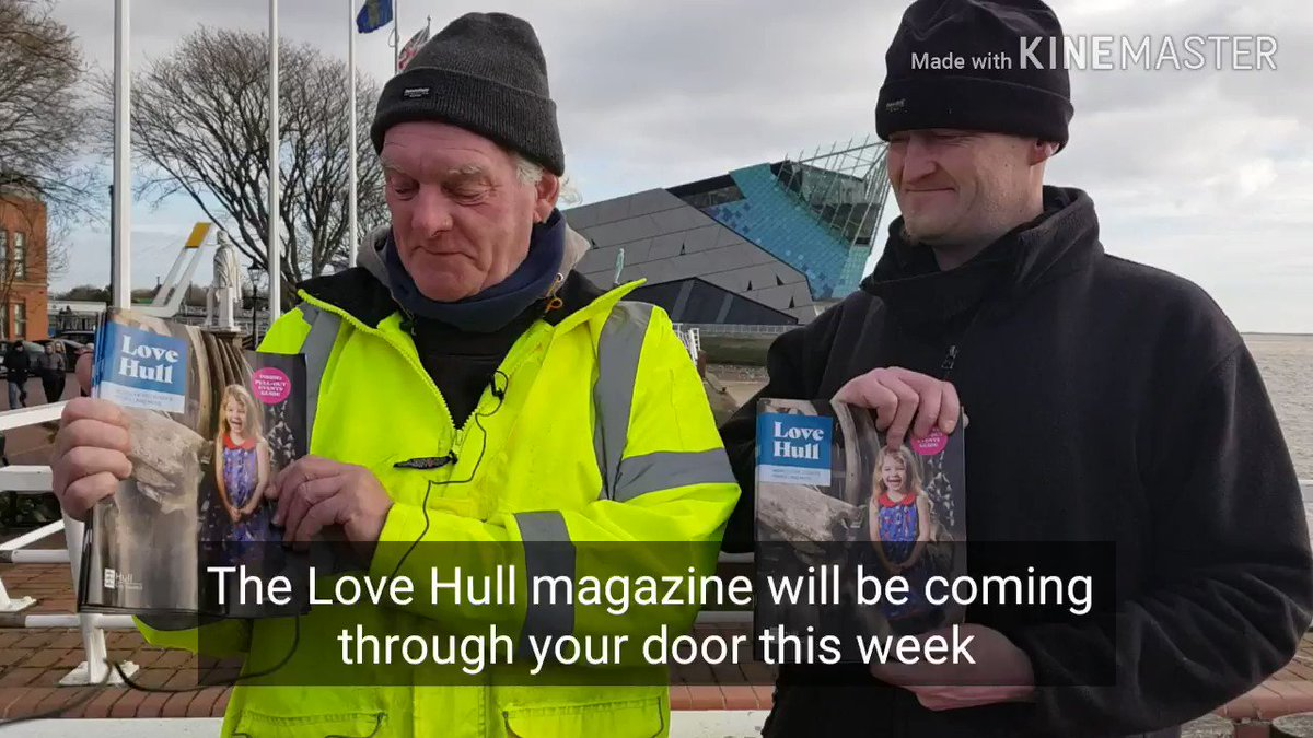 Image for the Tweet beginning: Your #LoveHull magazines are being