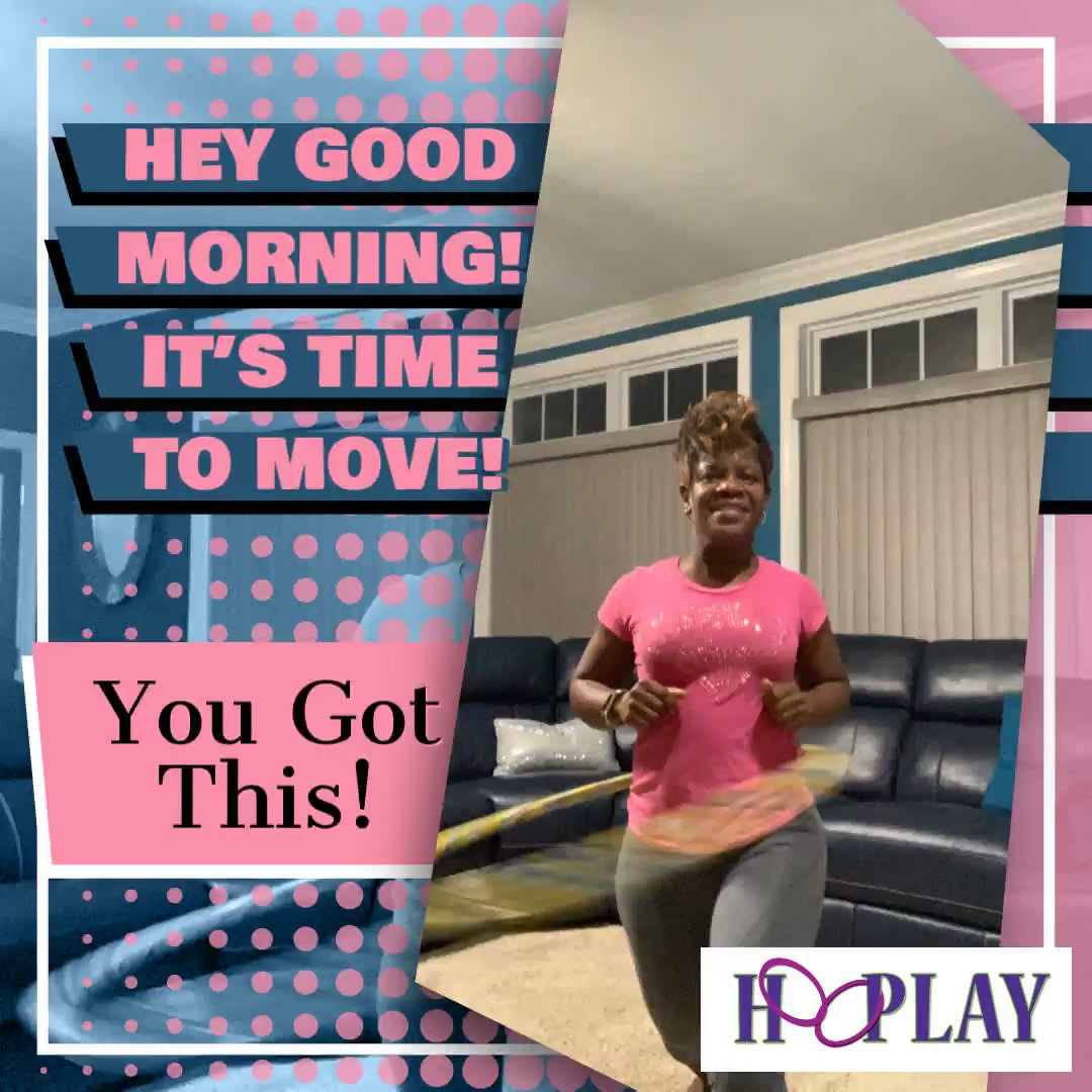 Let's move! Be Intentional about exercising! Let's Do This!  1-833(HooPlay) #beintentional #abs #cardio #hulahoop #hoopay #fun #fullbodyworkout