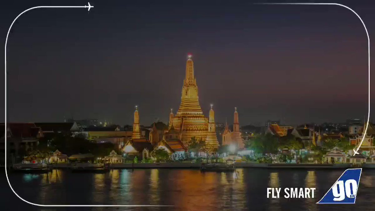 Lip-smacking delicacies, crazy nightlife and exquisite attractions - what's not to love about Thailand's capital? 😍Fly non-stop to #Bangkok from #Mumbai and #Delhi with GoAir.Book now - http://bit.ly/2P4o597