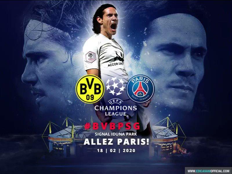 ALLEZ PARIS! #BVBPSG