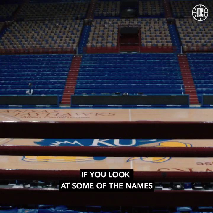 From the trenches to the rafters.  @MookMorris2's No. 22 hangs among the @KUHoops greats. https://t.co/g6HKeIsHQC