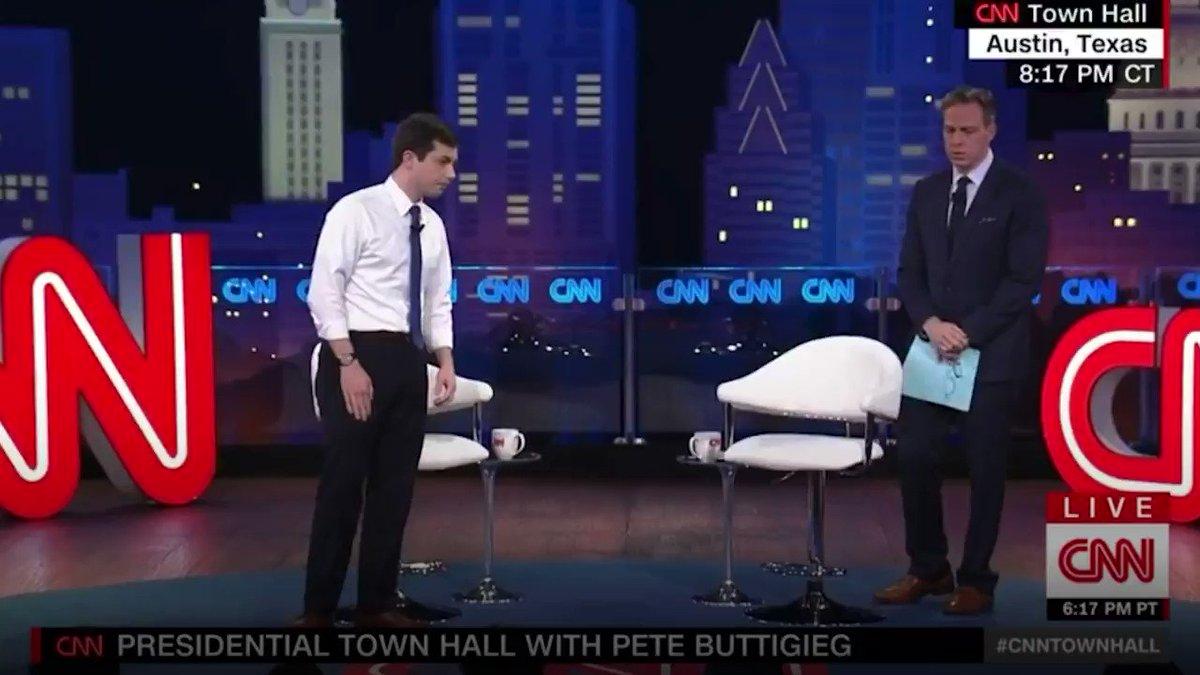 Watch @PeteButtigieg answer the tough questions on tonight's @CNN Town Hall. #PeteOnCNN