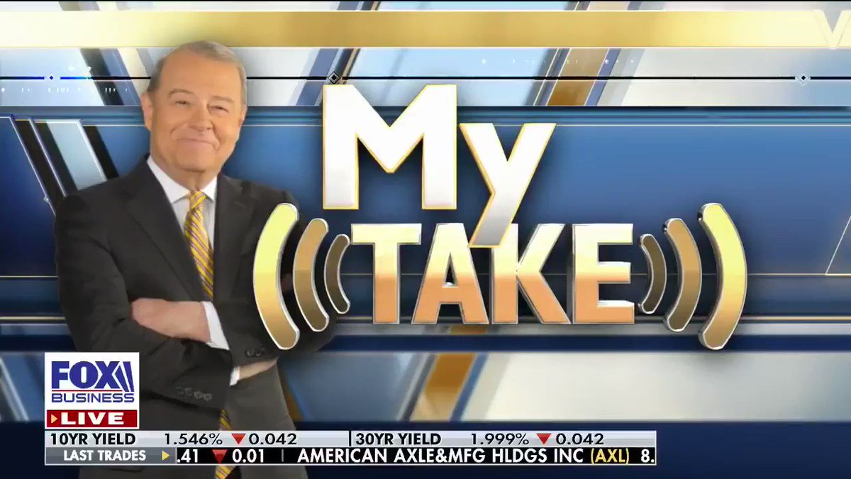 """STU: """"America is the best game in town! By that I mean our economy is the biggest and best performer!"""" #Trade #Coronavirus #Economy #MyTake #VarneyCo"""