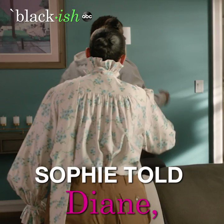 Not the same, Dre 🙄 join us for an all-new #blackish tonight!