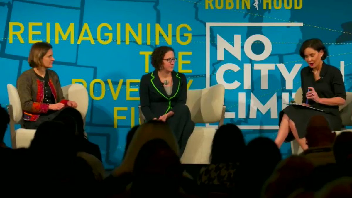 At last week's #NoCityLimits conference, our Co-Founder & Co-Chair Laura Arnold discussed evidence-based strategies to advance the fight against #poverty. Watch the full discussion on our website http://arnoldventures.org.