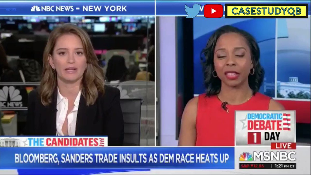 "#MSNBC - 2/18/20 - Katy Tur - @briebriejoy  answering the question ""How does the #BernieSanders campaign compete with a billionaire like #MikeBloomberg?""   2/4  #NotMeUs #Bernie #Bernie2020 #politics #Election2020pic.twitter.com/tIPKKbd3fj"