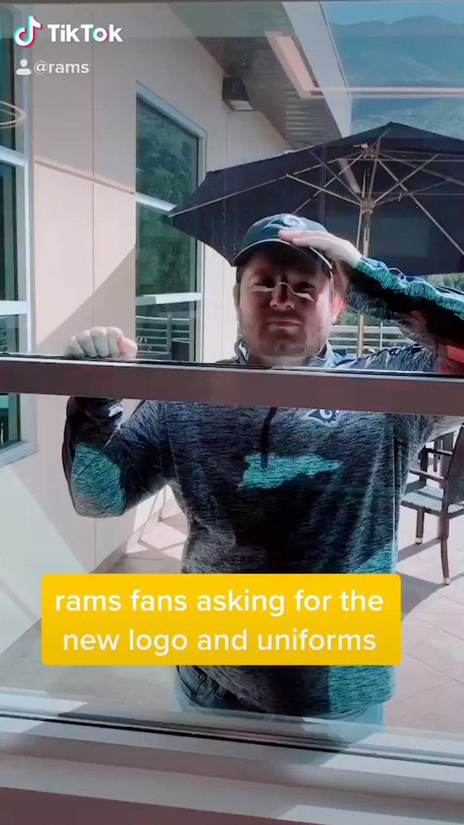 Rams made hilarious TikTok video trolling fans asking about uniforms