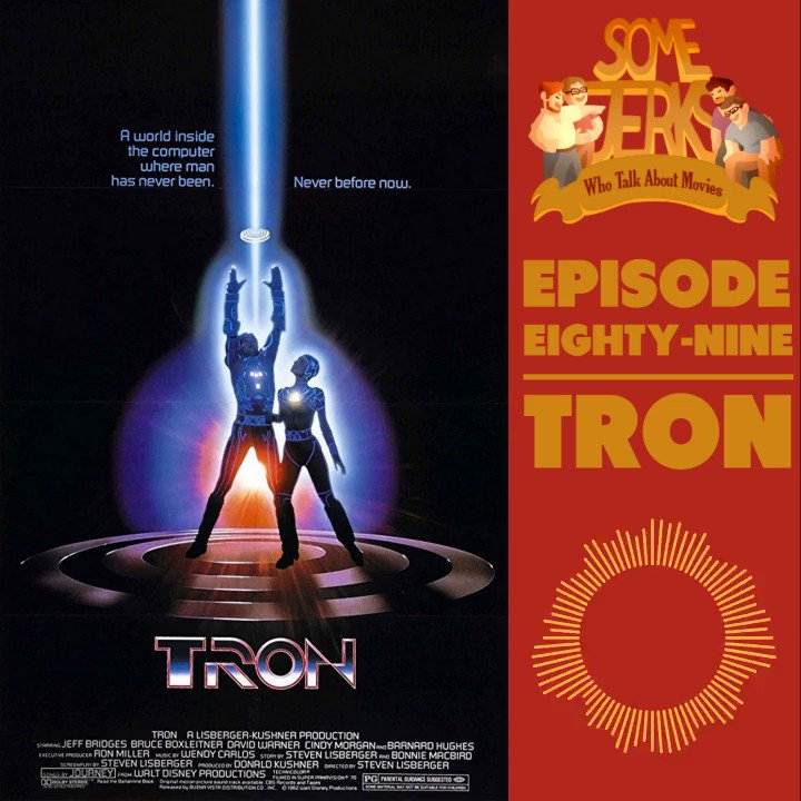 Here's a cozy little cult classic... about data? And users? Wait, what's happening in this movie?⠀ CLICK THE LINK IN OUR BIO TO LISTEN!⠀⠀ EXCERPT: Are computer programs sentient? #filmpodcast #podcast #JeffBridges #Tron #KingdomHearts pic.twitter.com/C9kjhxckhs