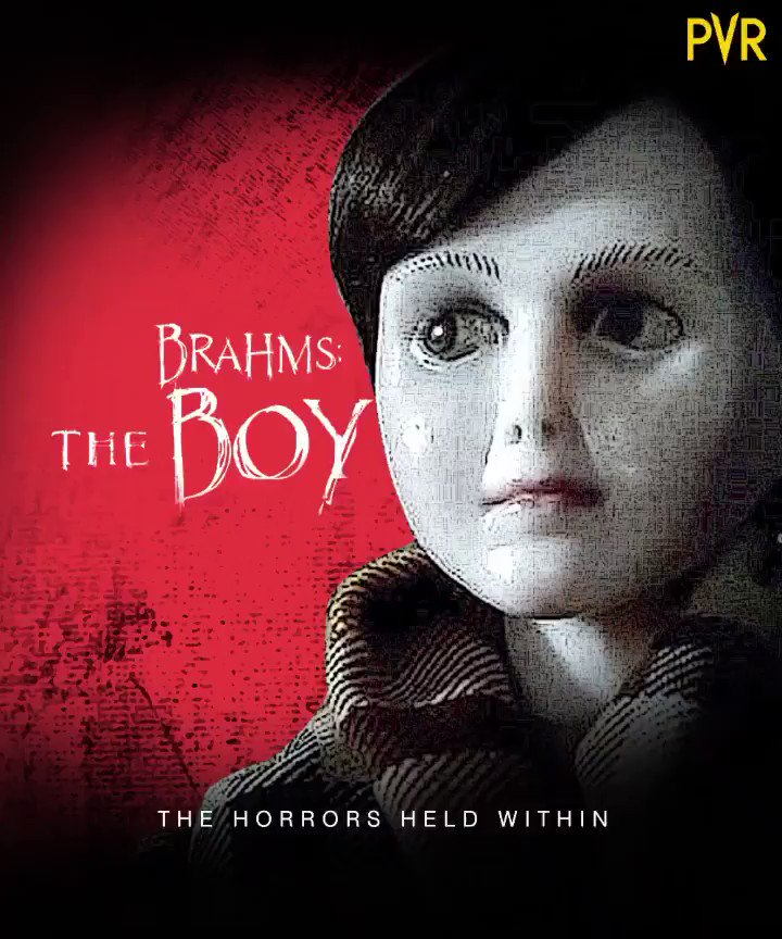 A big mansion and a friend like Brahms whose friendship you'll never be able to get out of! Get ready for a thriller adventure in #TheBoy2.  Releasing on 21st February, at #PVR.  The Boy pic.twitter.com/uJgVFXlsta