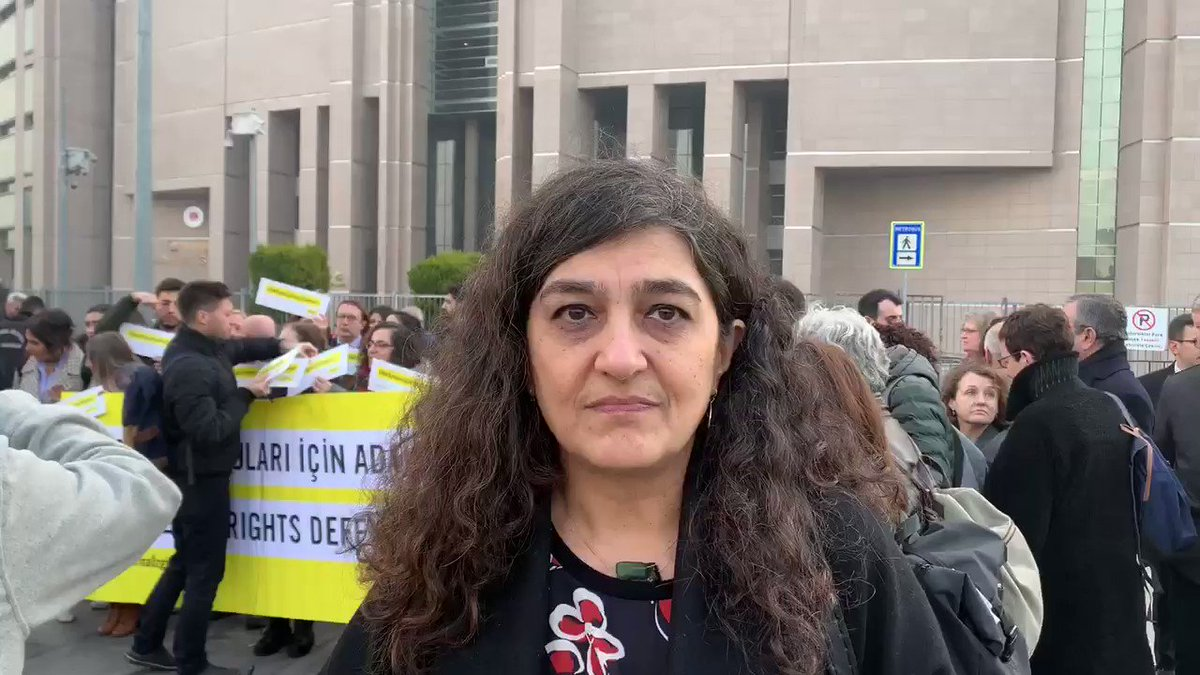 The verdict in today's case against 11 human rights activists will show whether respect for human rights has any part to play in #Turkey's justice system.   The world is watching pic.twitter.com/K7iGfAEr0m