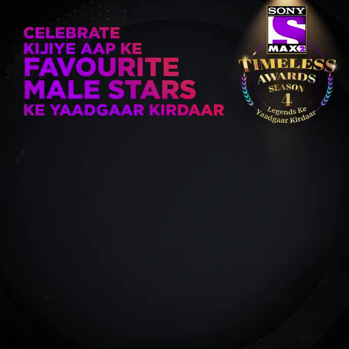 #MAX2TimelessAwardsS4 celebrates Legends Ke Yaadgaar Kirdaar! Voting lines for the first category are open till 27th February. Win* an Android phone by voting for every male legend. Win* an iPhone 11 Pro by voting in every category.  Visit http://bit.ly/MAX2TimelessAwardsS4 …