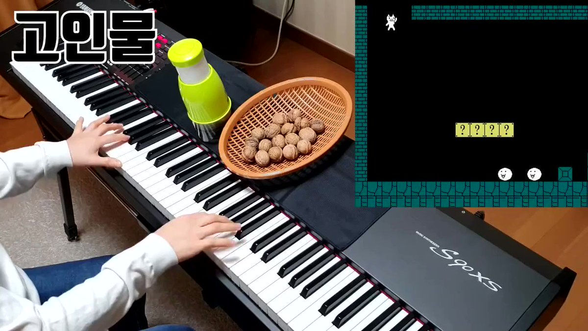 Hit play and tune in to Korean creator Funny Piano recreate music for a game of Cat Mario:  https://youtu.be/ioAoc8UI4bY