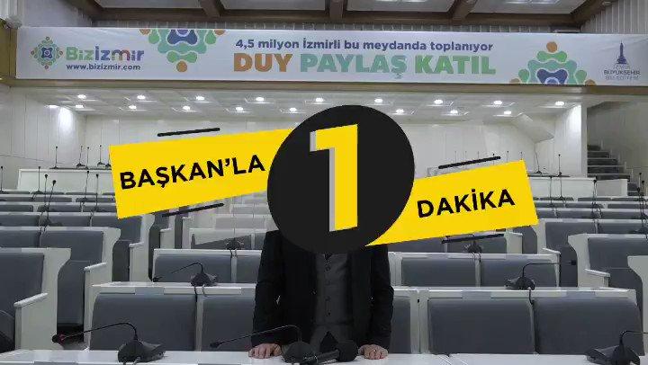 Image for the Tweet beginning: İzmir'de katılımcı, şeffaf, adil bir
