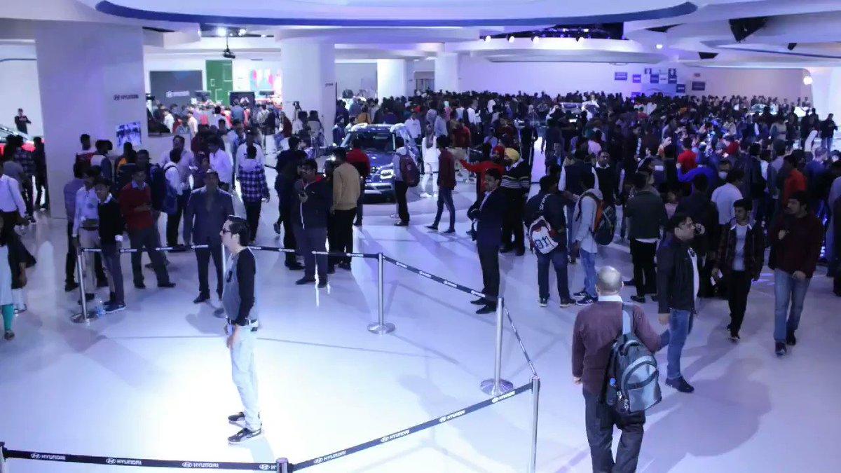 #AutoExpo2020 @HyundaiIndia