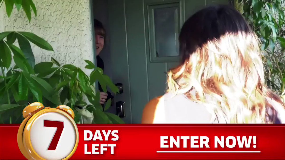 """#PCH could be at your door with $5,000.00 A Week """"Forever""""! Only SEVEN DAYS LEFT to enter: http://bit.ly/2SK9ke9"""