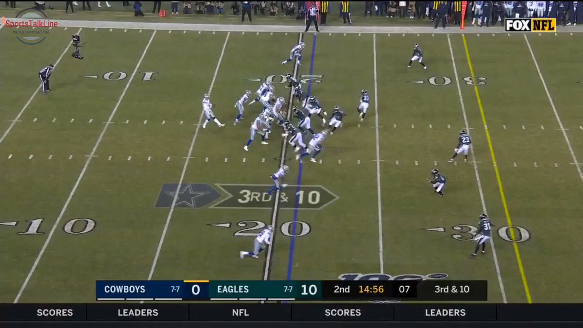 Check out #Cowboys highlight:Gallup 41 yards had to wait on the ball #DALvsPHI Get more info at bit.ly/2ntm3o8 #CowboysNation #DallasCowboys #NFL #NFLHighlights #SportsTalkLine