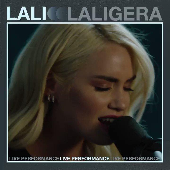 Replying to @lalioficial: #LALIGERA acoustic version @SomosVevo