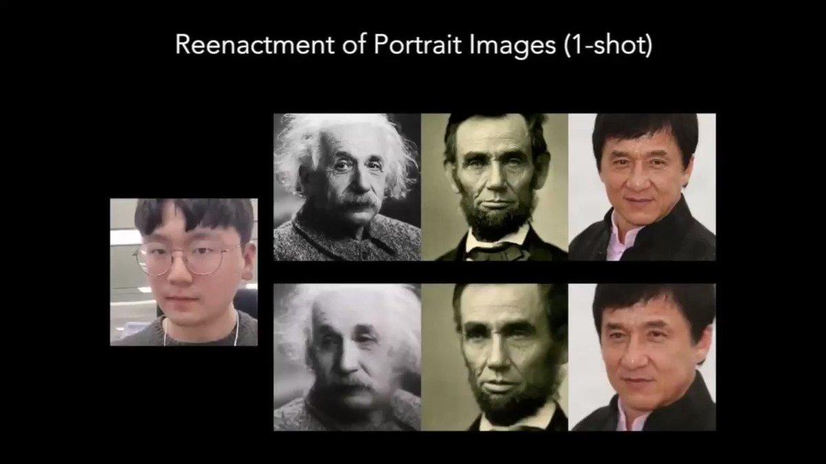 1枚の顔写真にリアルな動きを 韓国企業「MarioNETte」開発寄稿:顔の静止画像に動きを合成し操る技術。首、口、目、眉の動きなど大小の動作を制御。今までより出力後の不自然を軽減した。