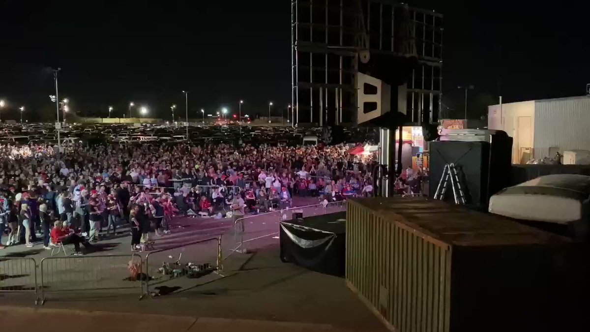 How do you know none of the Democrats on that stage stand a chance in November?  President Trump just held a massive rally in Arizona—a state Democrats need to win to take back the White House  And THIS was the OVERFLOW!  Trump enthusiasm is unmatched  RT!