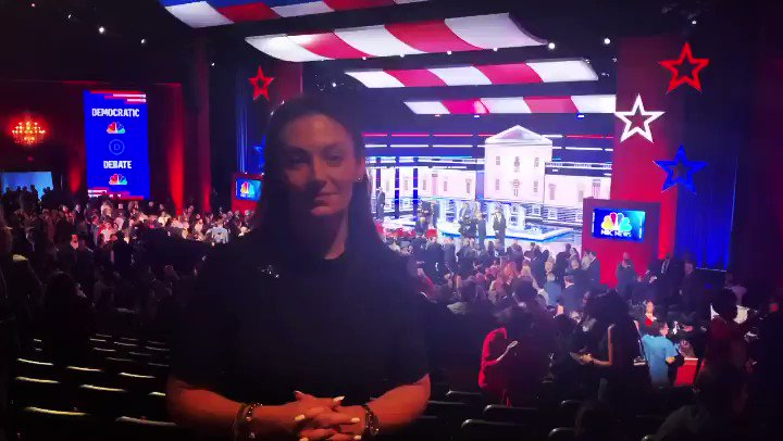 I just finished watching the #DemocraticDebate here in Nevada.  From climate change to healthcare to restoring America's moral compass, our next President was on this stage.  But now, I want to hear from YOU — who do you think won @TheDemocrats debate?  Let me know below!