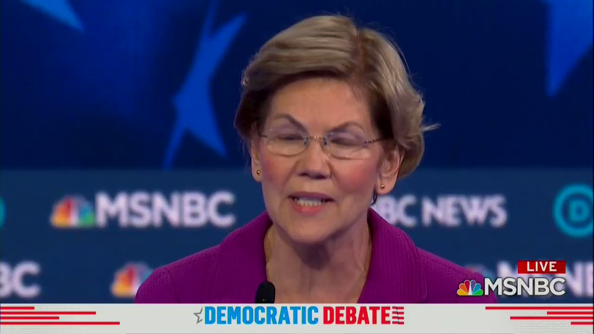 btw, Warren snuck a pretty solid Little Women review in tonight's debate.