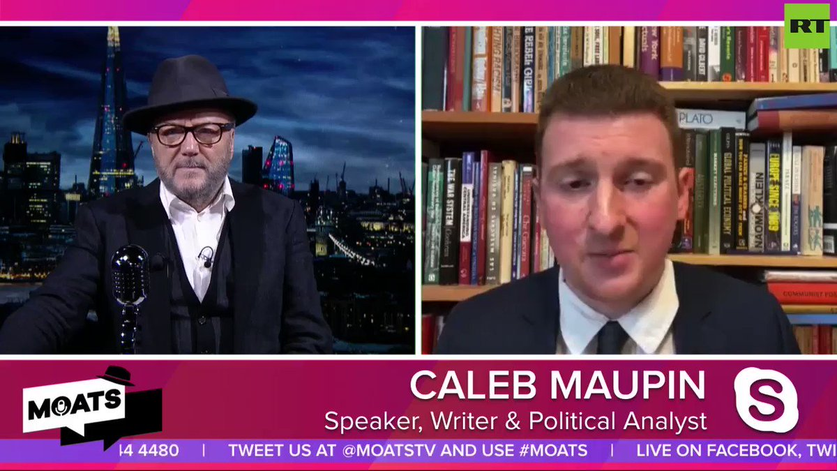 DOES JOE BIDEN HAVE DEMENTIA?: Strange behaviour from the Democratic candidate, which RTs Caleb Maupin says is becoming very noticeable, as the race heats up. Listen to this #MOATS .  #USPolitics    https://buff.ly/320kUEK    @moatstv  | @RT_com  | @SputnikInt  | @calebmaupin