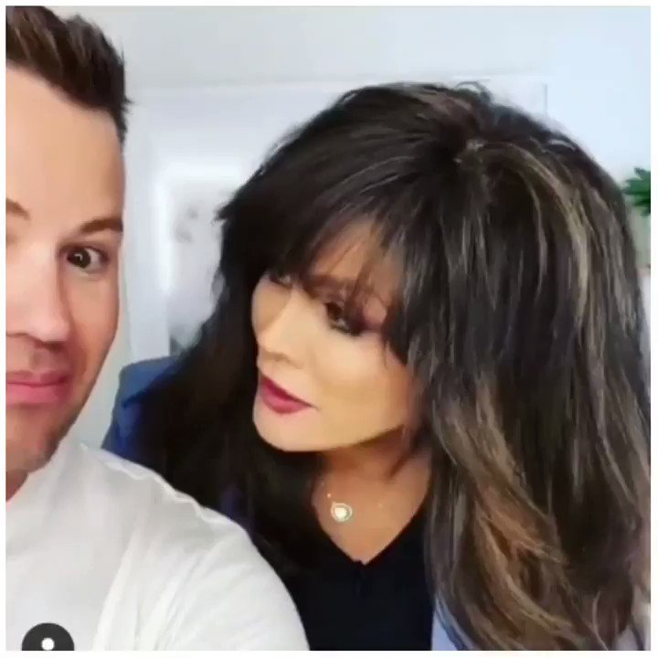 Whats Cody & @marieosmond Up To Today #SexySixty 😘 You Guys Are So Much Fun! Check Out Codys #Instagram Page 👉 instagram.com/hairbycody9021… Looking Fabulous Marie! 💕💋