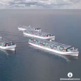 Image for the Tweet beginning: #AutonomousCars? How about autonomous cargo