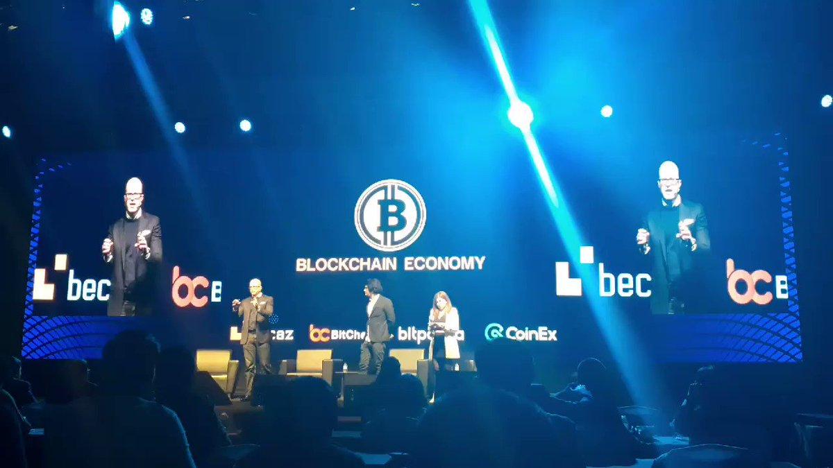 Image for the Tweet beginning: #BlockchainEconomy2020