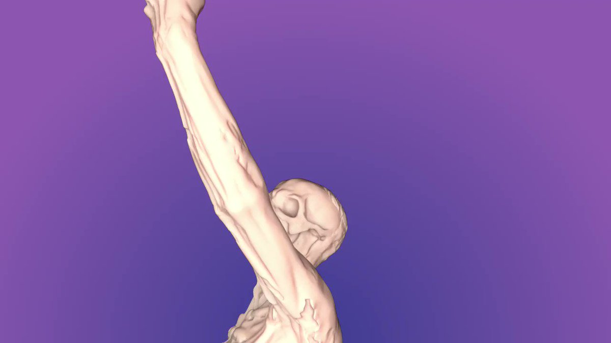 I was messing about with subsurface scattering and accidentally made a flesh skeleton :(