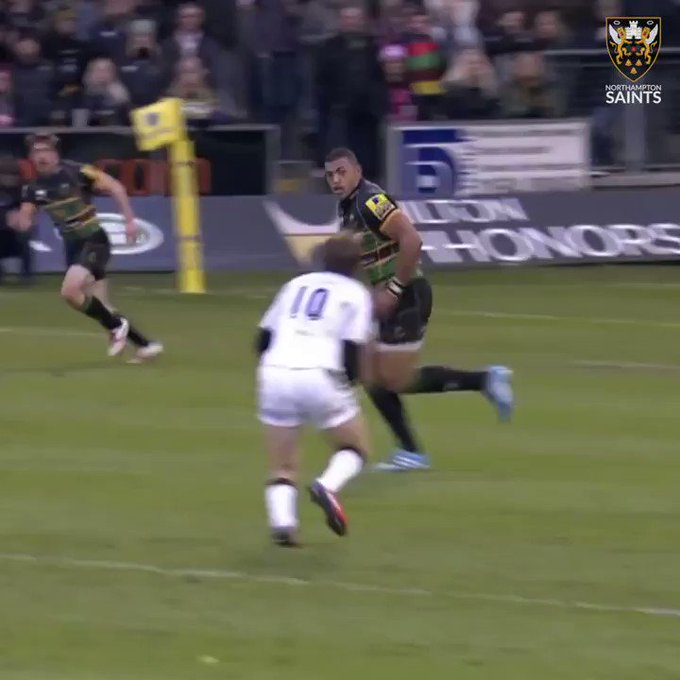 SaintsRugby: Join us in wishing Courtney_Lawes a very Happy Birthday Have a SMASHING day!