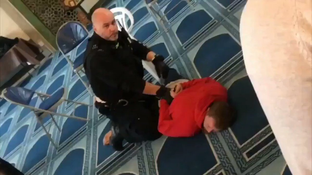 This terrorist stormed into Regents Park Mosque in London with a knife and stabbed a Muslim man in the neck while he was carrying out the call to prayer.  My heart can't take this. 💔