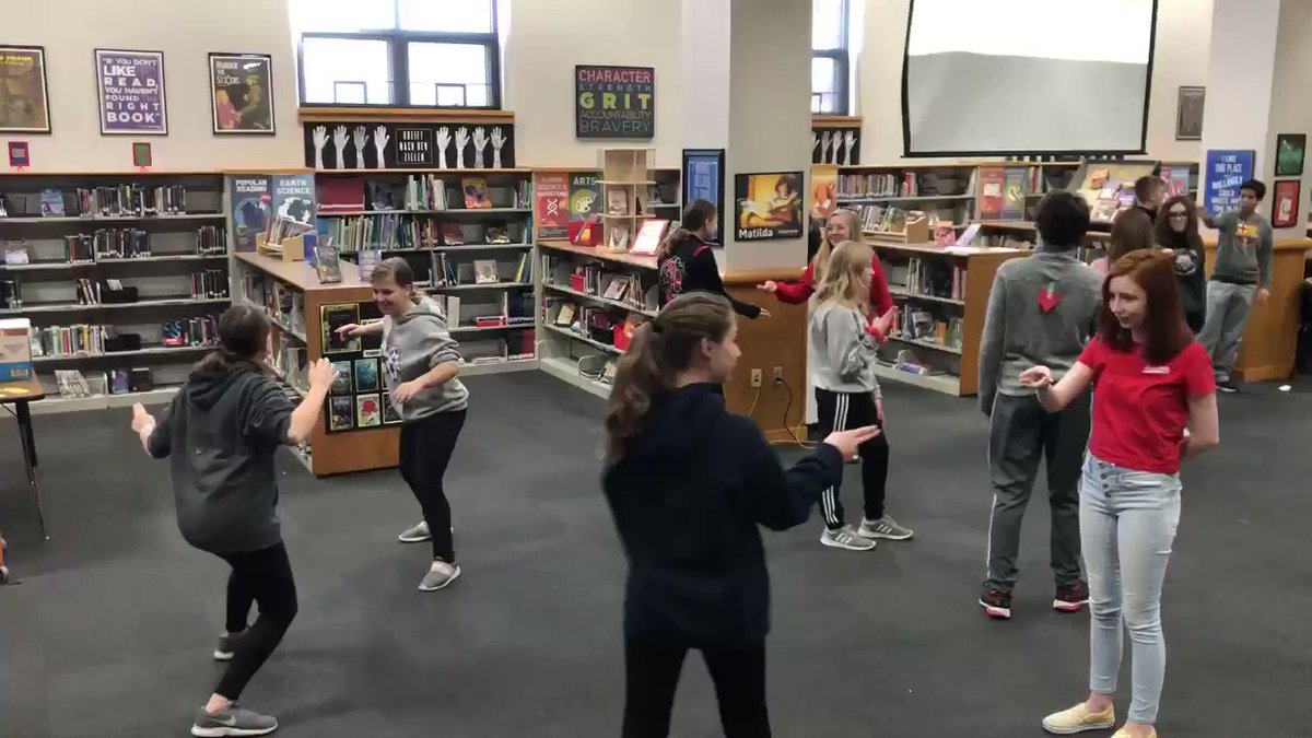 """A little safe and fun """"dueling"""" to go along with the reading of Romeo and Juliet. @BridgetownMS #OHBMSBest"""